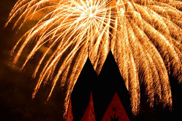 Fest der 1000 Lichter  -  Mit Feuerwerk in Andernach vom 02.08.-04.08.2019