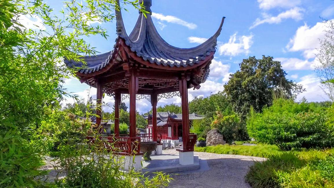 Kaffeefahrt in den Chinesischen Garten mit Führung am 05.09.2019