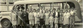 Busfahrt 1958