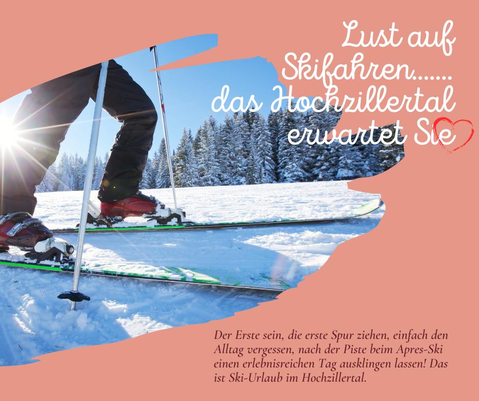 Lust auf Skifahren im Skigebiet Hochzillertal vom 10.12.-12.12.2021