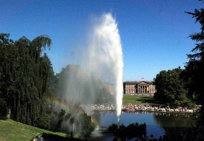 Kaffeefahrt nach Kassel zu den Wasserspielen am 09.09.2020