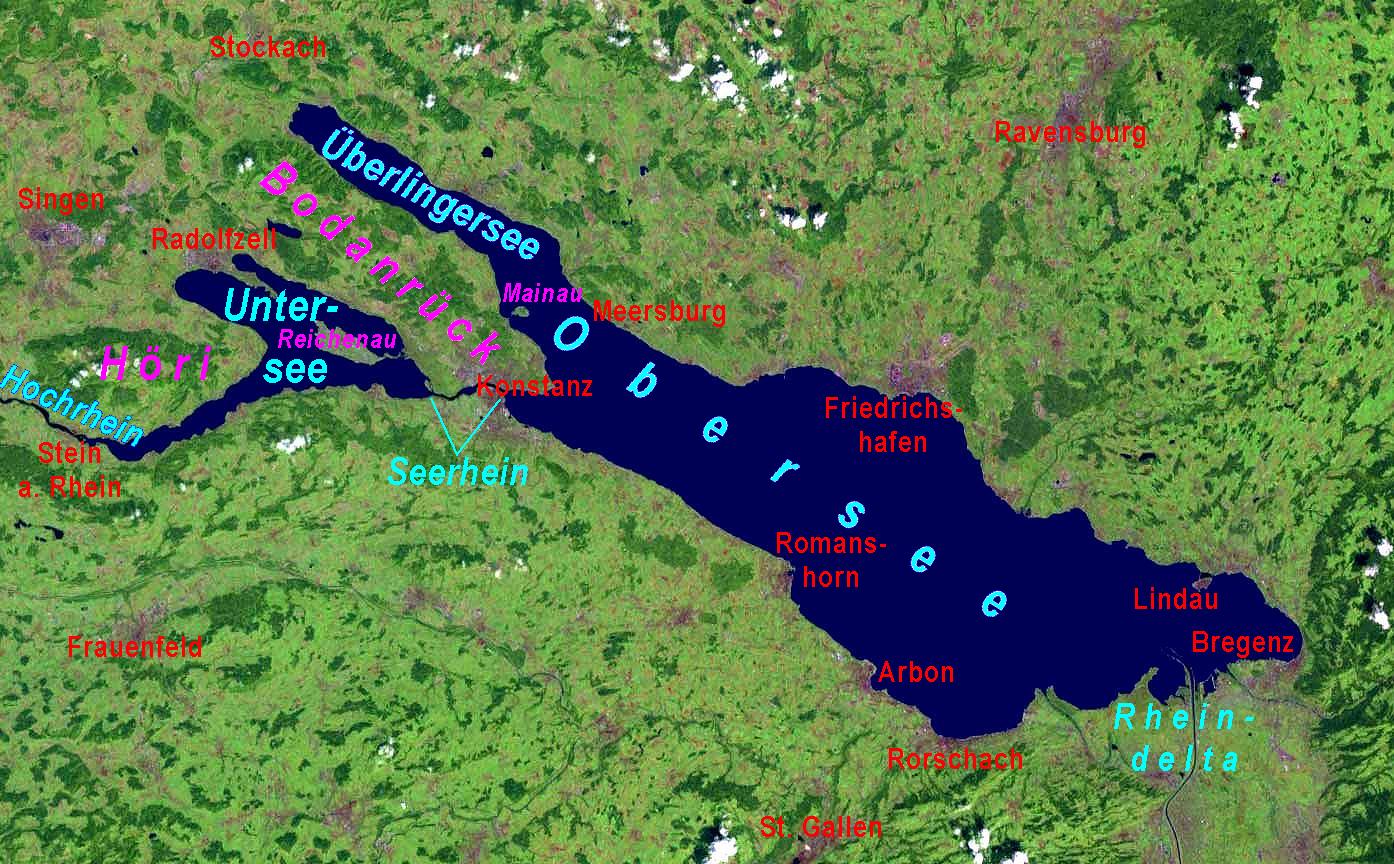 VORSCHAU 2019 - Bodensee mit Blumeninsel Mainau  vom 18.04.-23.04.2019 - Ostern