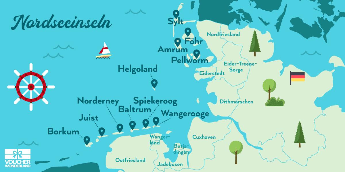 VORSCHAU 2019 - Inselhüpfen an der Nordsee vom 08.06.-14.06.2018