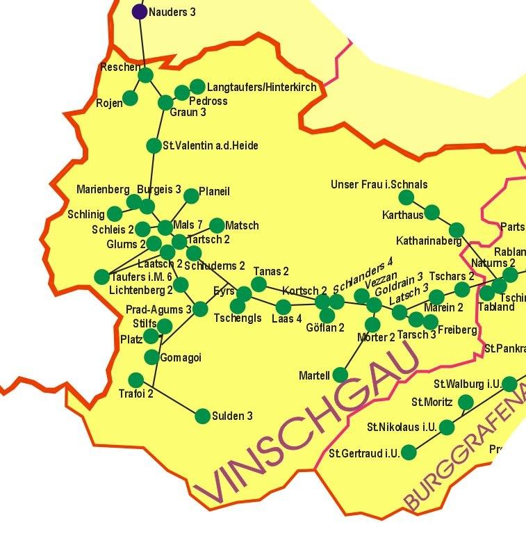 Auf in den Vinschgau - Das Martelltal  vom 22.09.-28.09.2019