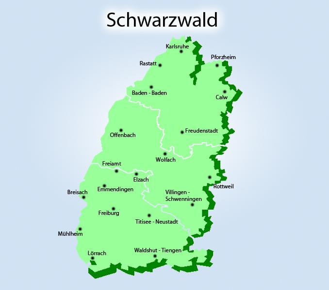 Der Schwarzwald vom 16.10.-20.10.2019
