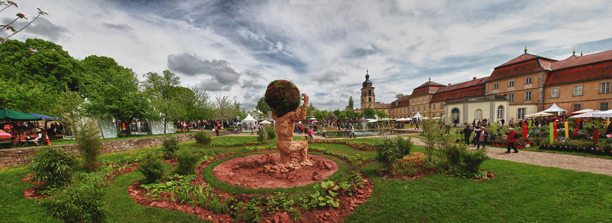 """Fürstliches Gartenfest """"Schloss Fasanerie"""" am 19.05.2019"""