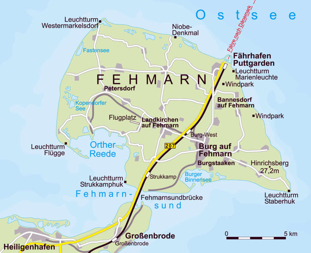 Fehmarn individuell vom 26.09.-02.10.2020