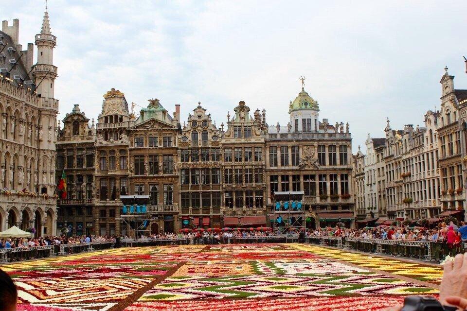 Vorschau 2020 - Blumenteppich in Brüssel vom 14.08.-16.08.2020