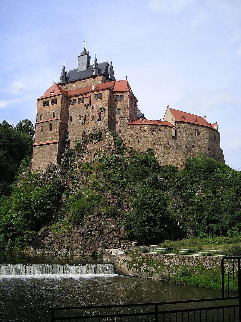 Burg Kriebstein und Chemnitz am 11.08.2020
