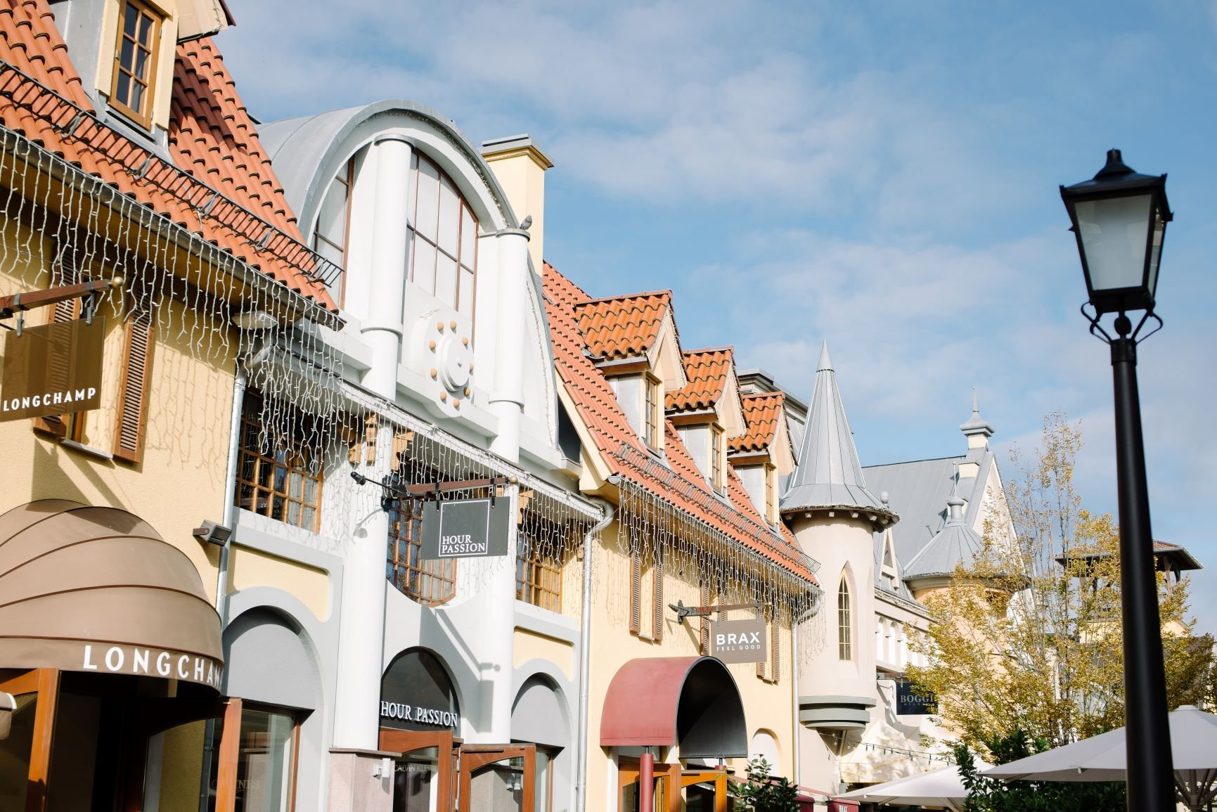 Outlet Shopping in Wertheim Village am 10.10.2020