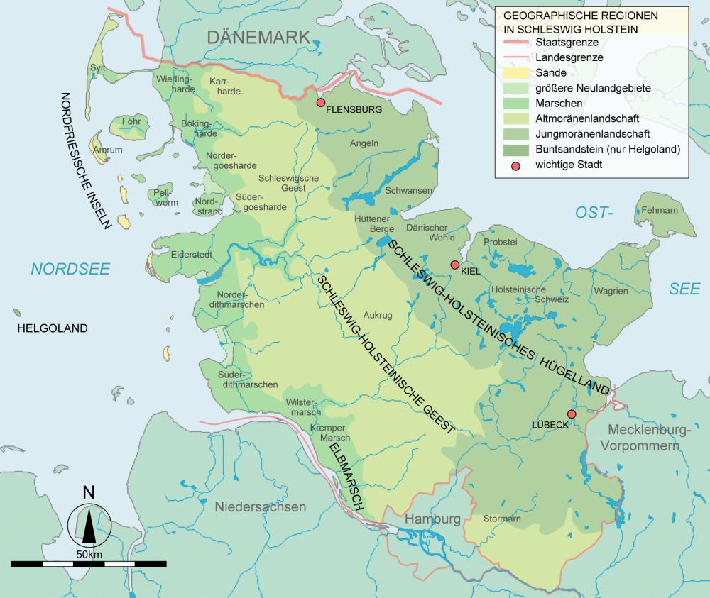 Land zwischen 2 Meeren: Zu Besuch bei den Wikingern mit Sylt und Helgoland vom 09.07.-14.07.2021