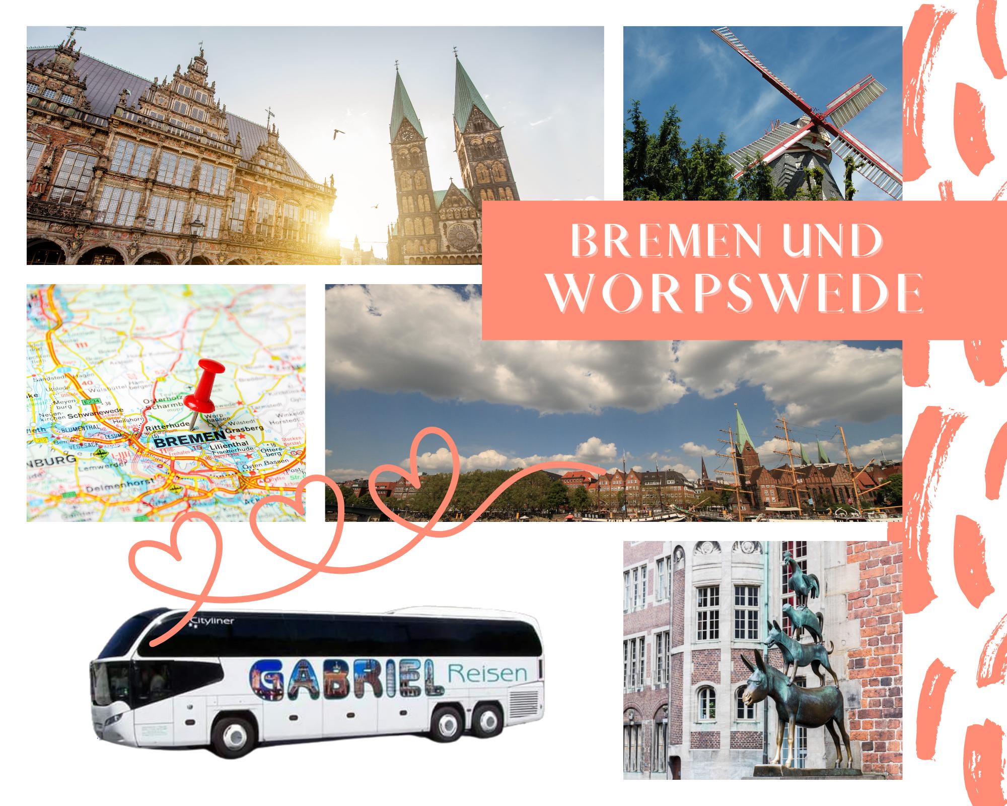 Bremen mit Stadtbesichtigung & Besuch des Künstlerdorf Worpswede am 19.10.2021