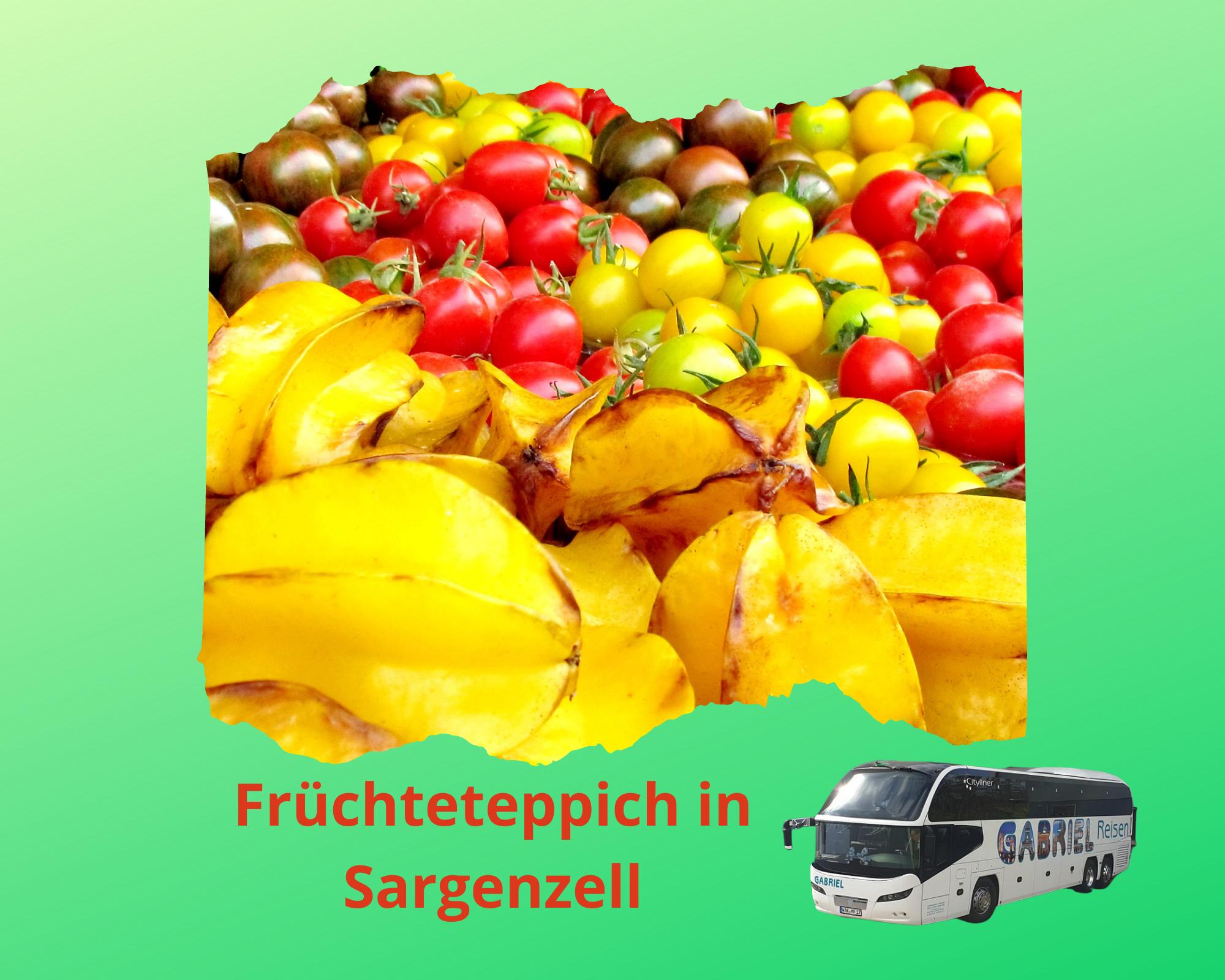 Früchteteppich in Sargenzellam 14.10.2021