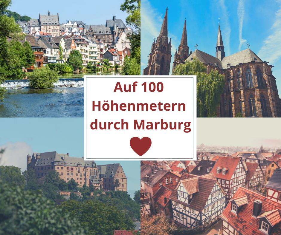 100 Höhenmeter Marburg am 23.11.2021